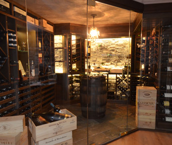 Home rosyma wine cellars and walk in for Walk in wine cellar
